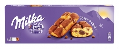 Печенье кекс с шоколадом Milka Cake & Choc Cookies 175 грамм
