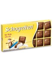Шоколад Schogetten Trilogia Kids Chocolate 'Детский' 100 грамм