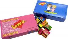 Жвачка Love is Микс Пожелания 4,2 грамма