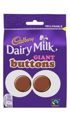 Cadbury Giant Buttons Chocolate 80 грамм