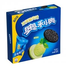 Печенье Oreo со вкусом мороженного и зеленого чая 388 грамм