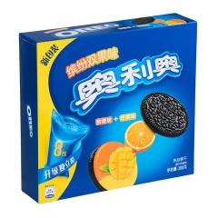 Печенье Oreo со вкусом апельсина и манго 388 грамм