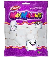 Зефир MAXMALLOWS белые трубочки ванильные 250 грамм