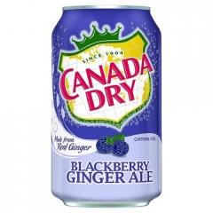 Напиток б/алк сильногазированный CANADA DRY ежевика 0,355л