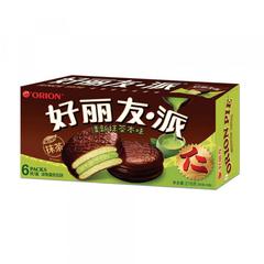 """Пирожное """"Orion pie"""" со вкусом зеленого чая 216 грамм"""