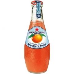 Напиток San Pellegrino Розовый Апельсин 200 мл стекло