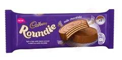 Вафли в молочном шоколаде Cadbury Roundies Milk Chocolate Wafer 150 грамм