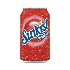 Напиток Sunkist Strawberry 0,355 л