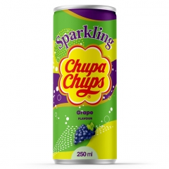 Напиток газированный Chupa Chups Виноград 250 мл