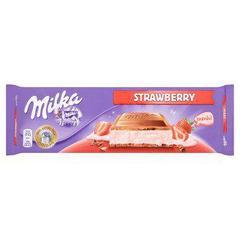 Шоколад Milka Strawberry 300 грамм