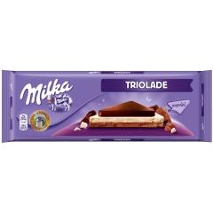 Шоколад Milka Triolade 280 грамм