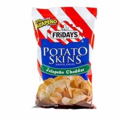 Картофельные чипсы Fridays со вкусом халапенью и чеддер 113.4 грамма