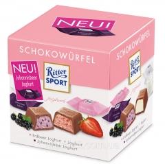 Шоколадные конфеты Ритер Спорт Йогурт Ritter Sport Joghurt 176 грамм
