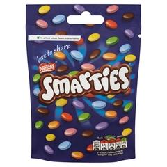 Шоколадное драже Nestle Smarties Pouch 125 грамм
