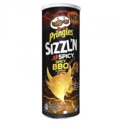 Чипсы Pringles Flame BBQ 160 гр