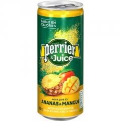 Газированный напиток Perrier Ананас-Манго 250 мл