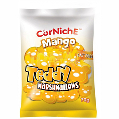 Зефир Corniche Mango Teddy Marshmallow 70 грамм