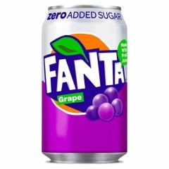 Напиток газированный Fanta Grape Zero 330 мл