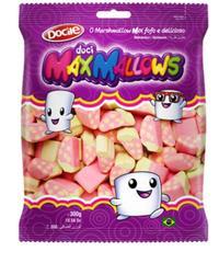 Зефир MAXMALLOWS клубнички с клубничным вкусом 250 грамм