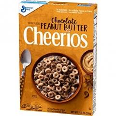 Готовый завтрак Cheerios колечки с шок.и арах.маслом 320 грамм