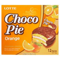 Печенье Lotte Сhoco Pie Orange 336 грамм