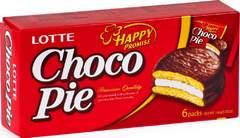 Lotte Сhoco Pie 168г