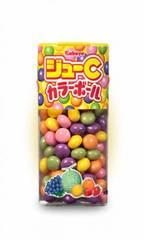 Карамель разноцветная KABAYA JOUE C COLOR BALL 5 фруктовых вкусов