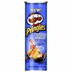 Чипсы Pringles Пармезан и Жареный чеснок 158 гр