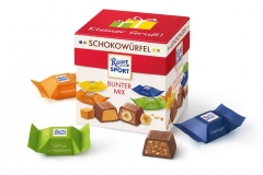 Шоколадные конфеты Ritter Sport Bunter Mix 176 грамм