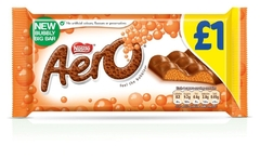 Молочный пористый шоколад Nestle Aero Orange 100 грамм