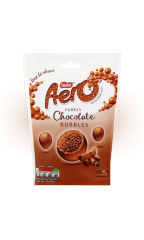 "Шоколадное драже Nestle Aero Bubbles Milk ""Воздушный шоколад"" 102 гр"