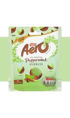 "Шоколадное драже Nestle Aero Peppermint ""Воздушный шоколад"" 102 гр"