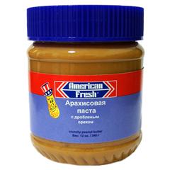 Арахисовая паста American Fresh с дробленым орехом