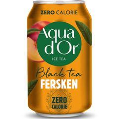Чай холодный Aqua DOr Black Tea Peach 330 мл