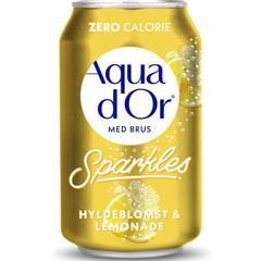 Напиток Aqua d Or Hyldeblomst and Lemonade бузина и лимонад 330 мл