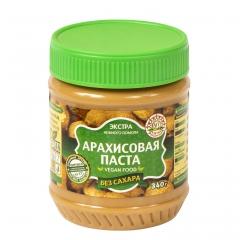 Арахисовая паста Азбука Продуктов без сахара 340 гр