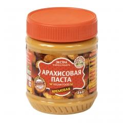 Арахисовая паста Азбука Продуктов кремовая 340 гр