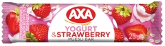 Зерновой батончик Axa йогурт и клубника 25 гр