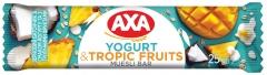Зерновой батончик Axa йогурт и тропические фрукты 25 гр