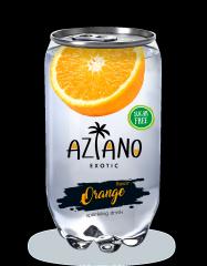 Газированный напиток Aziano Апельсин 350 мл (Россия)