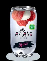 Газированный напиток Aziano Личи 350 мл (Россия)