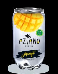 Газированный напиток Aziano Манго 350 мл (Россия)