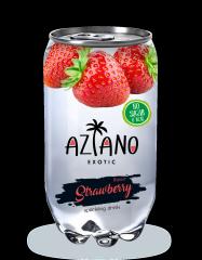 Газированный напиток Aziano Клубника 350 мл (Россия)