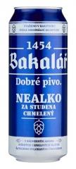 Пиво Bakalar светлое б\а 500 мл