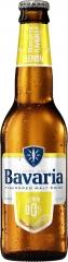 Пивной напиток светлый б/а Bavaria Лимон 330 мл стекло