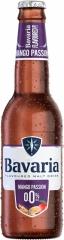 Пивной напиток светлый б/а Bavaria Манго 330 мл стекло