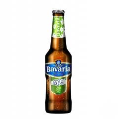 Пиво Bavaria Apple  б/а светлое 330 мл стекло