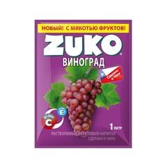 Растворимый напиток ZUKO Виноград 25 грамм
