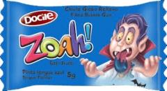 Жвачка Docile ZOAH! Blue Tongue Painter Tutti-Frutti 5 грамм