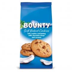 Мягкое печенье Mars Bounty c кусочками молочного шоколада и кокосом 180 гр